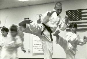 Sensei Mark Roscoe Teaching