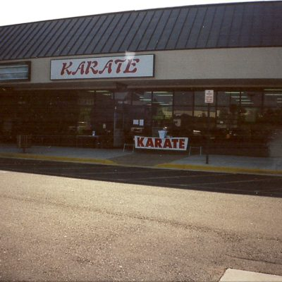 Sensei Mark Roscoe Opens First Dojo in Fredericksburg Summer 1993