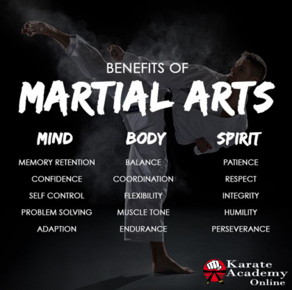 Benefits of Martial Arts Training